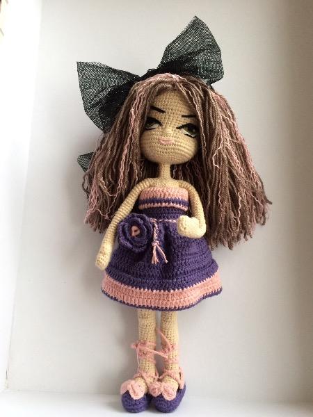 Amigurumi Bebek Elbise Yapımı, Amigurumi örgü bebek | 600x450