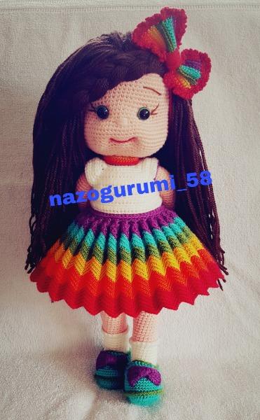 ZÜMRA BEBEK ELBİSE #dress #handmade #doll - YouTube | 600x371
