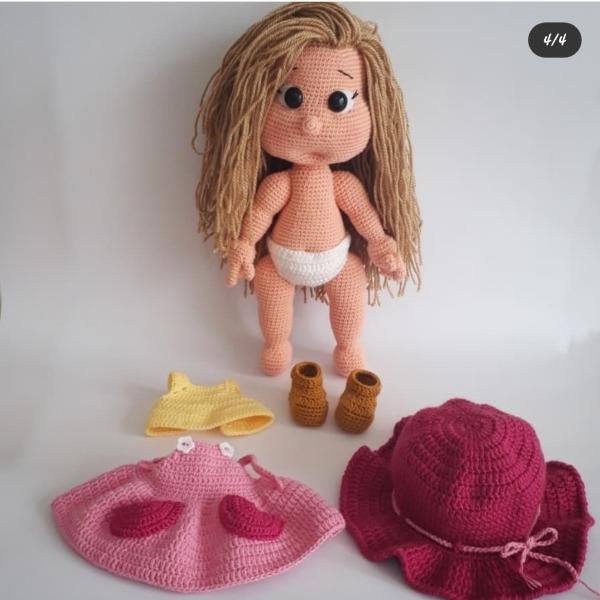 Maltepe içindeki Mia bebek amigurumi bebek satıldı - letgo | 600x600