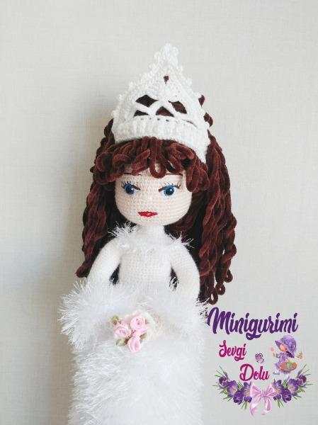 Prenses Bebek Amigurumi Organik Oyuncak - n11.com   600x449