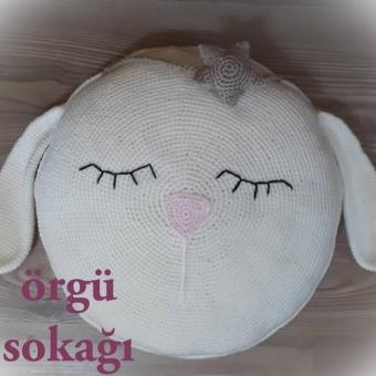 Sevimli Tavşancık Kırlent
