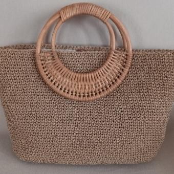 Bambu saplı  çanta