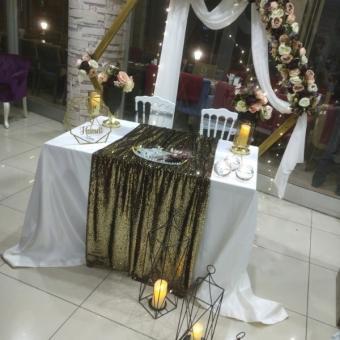 Düğün ve nişan masası
