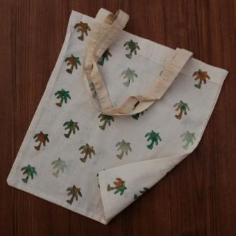 Orijinal El Boyama Bez Çanta (Palmiye)