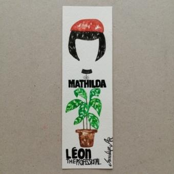 Suluboya Kitap Ayracı (Leon The Professional)