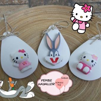 Kokulutaş Hello Kitty  Bugs Bunny
