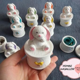 Kokulu Taş Tavşan Kutu