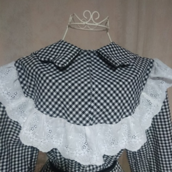 Pötikareli vintage bluz