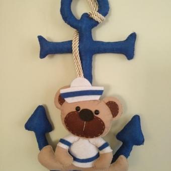 keçe denizci kapı süsü