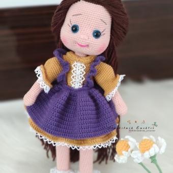 Amigurumi kız bebek
