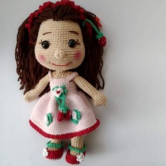 Amigurumi  Çilek kız