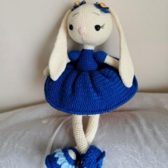 Amigurumi Uzun Kulak Tavşan