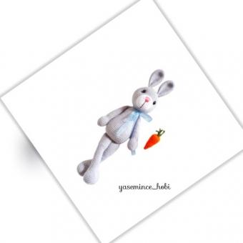 Amigurumi Tavşan Oyun Arkadaşı