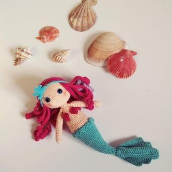 Amigurumi Deniz kızı Callia