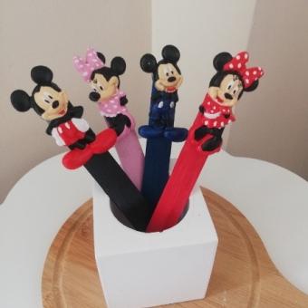 Kokulu Taş Mickey ve Minnie Mouse Kitap Ayracı
