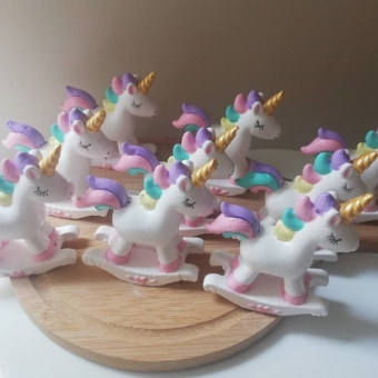 Kokulu Taş Unicorn Biblo