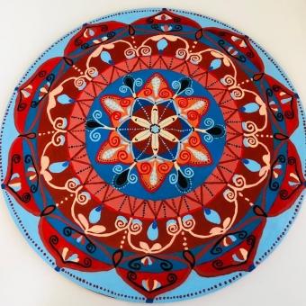 Mandala Akrilik Ev Dekorasyon Ürünü