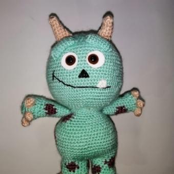 Monsters Amigurumi Oyuncak