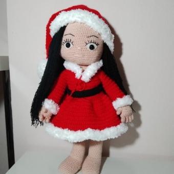 Amigurumi Noel Bebek