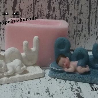 Erkek Bebek Silikon Kalıp