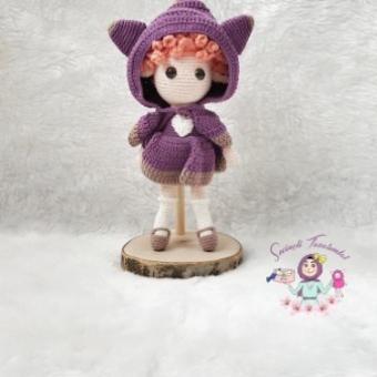 Amigurumi Kız Bebek Foxella
