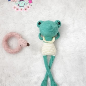 Amigurumi Kurbağa Betty