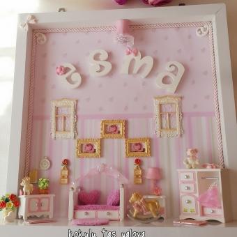 Bebek Ve Çocuk Odası Kapı Süsü