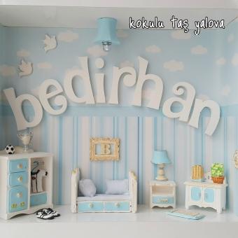 Işıklı Minyatür Çocuk Odası