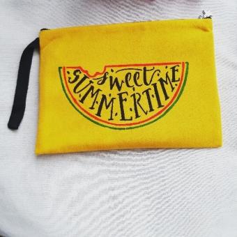 El boyama clutch - portföy çanta