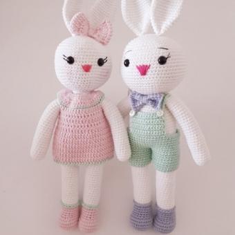 Amigurumi Bay Tavşan