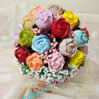 Kokulu Taş Çiçek Buketleri