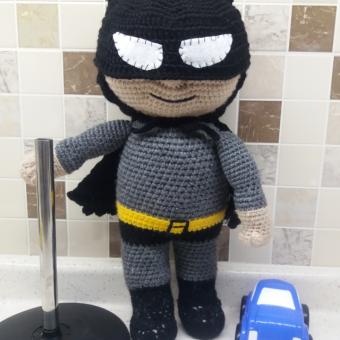 Amigurumi Batman Bebek