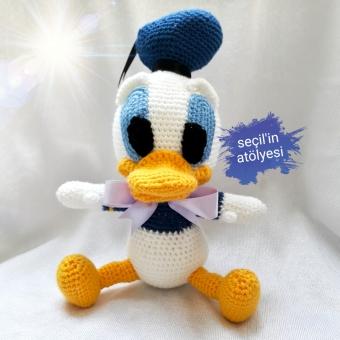 Özel Tasarım Amigurumi Donald Duck