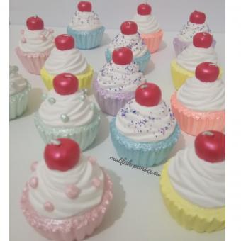 Kokulu taş cupcakes