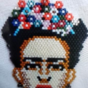 Frida Kahlo Miyuki Kolye