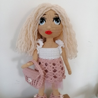 Örgü Amigurumi Kız Bebek