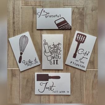 Mutfak Gereçleri Duvar Panosu