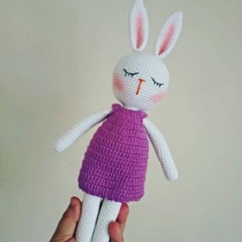 Amigurumi Tavşan ( Uykucu)