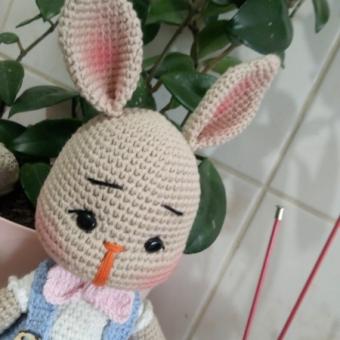 Amigurumi Tavşan Monami (Erkek)
