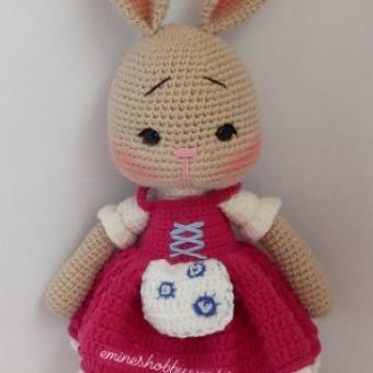 Amigurumi Tavşan Monami (Kız)
