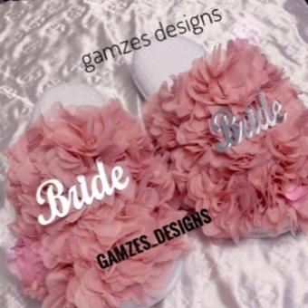Bride Pleksili Gelin Terliği