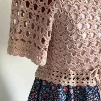 Çiçekli Vintage Elbise
