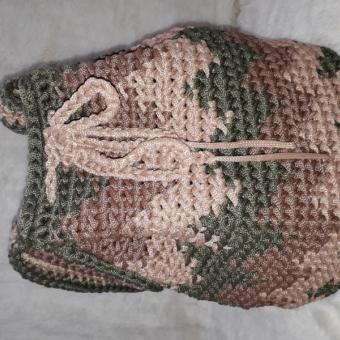 Desenli çanta