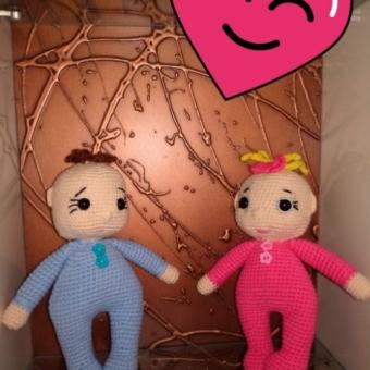 Amigurumi Miniş Bebekler