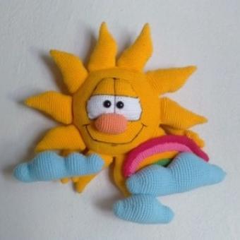 Amigurumi güneş
