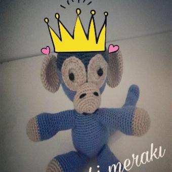 Amigurumi Maymun Oyuncak
