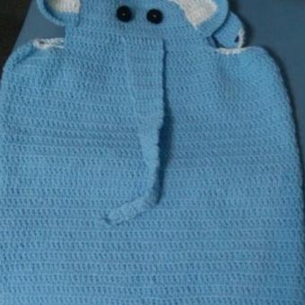 Örgü Bebek çocuk elbisesi