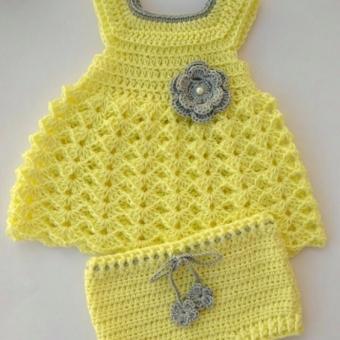 Bebek Elbise Bandana