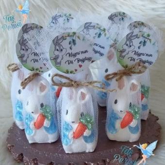 Kokulu Taş Tavşan Biblo