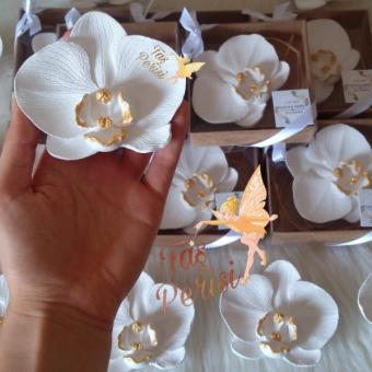 Kokulu Taş Orkide Magnet